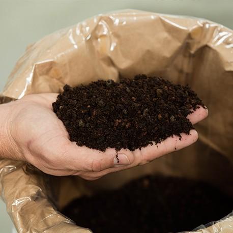 Cultiss® : Sac 25 L de substrat spécial toiture végétalisée - Best EPDM